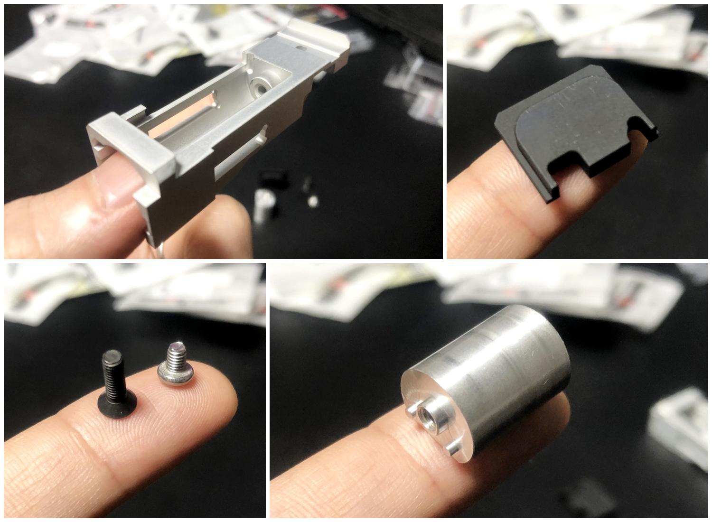 4【前半】 SAI GLOCK カスタムスライド G18C 組込完了!! やっと組み立てたぞ!! Guns Modify Salient Arms GM0251 スライドパーツ 購入 組込 分解 取付 カスタム レビュー!!