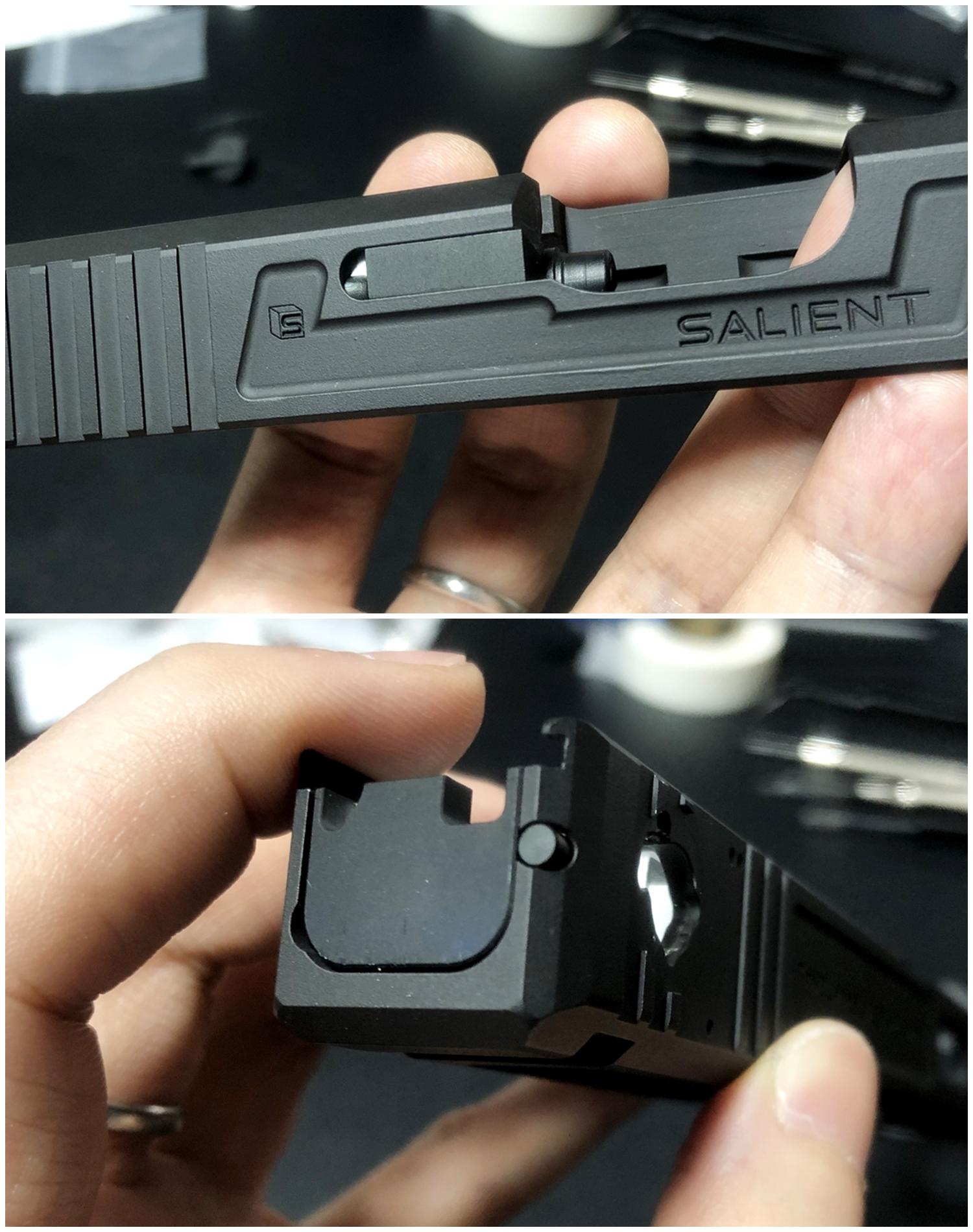 19-4【前半】 SAI GLOCK カスタムスライド G18C 組込完了!! やっと組み立てたぞ!! Guns Modify Salient Arms GM0251 スライドパーツ 購入 組込 分解 取付 カスタム レビュー!!