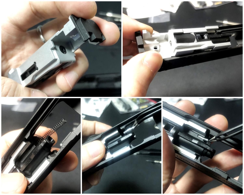 20【前半】 SAI GLOCK カスタムスライド G18C 組込完了!! やっと組み立てたぞ!! Guns Modify Salient Arms GM0251 スライドパーツ 購入 組込 分解 取付 カスタム レビュー!!