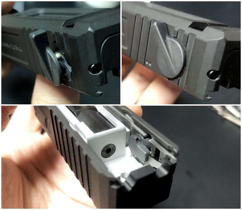 23【前半】 SAI GLOCK カスタムスライド G18C 組込完了!! やっと組み立てたぞ!! Guns Modify Salient Arms GM0251 スライドパーツ 購入 組込 分解 取付 カスタム レビュー!!