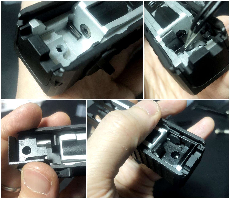 25【前半】 SAI GLOCK カスタムスライド G18C 組込完了!! やっと組み立てたぞ!! Guns Modify Salient Arms GM0251 スライドパーツ 購入 組込 分解 取付 カスタム レビュー!!
