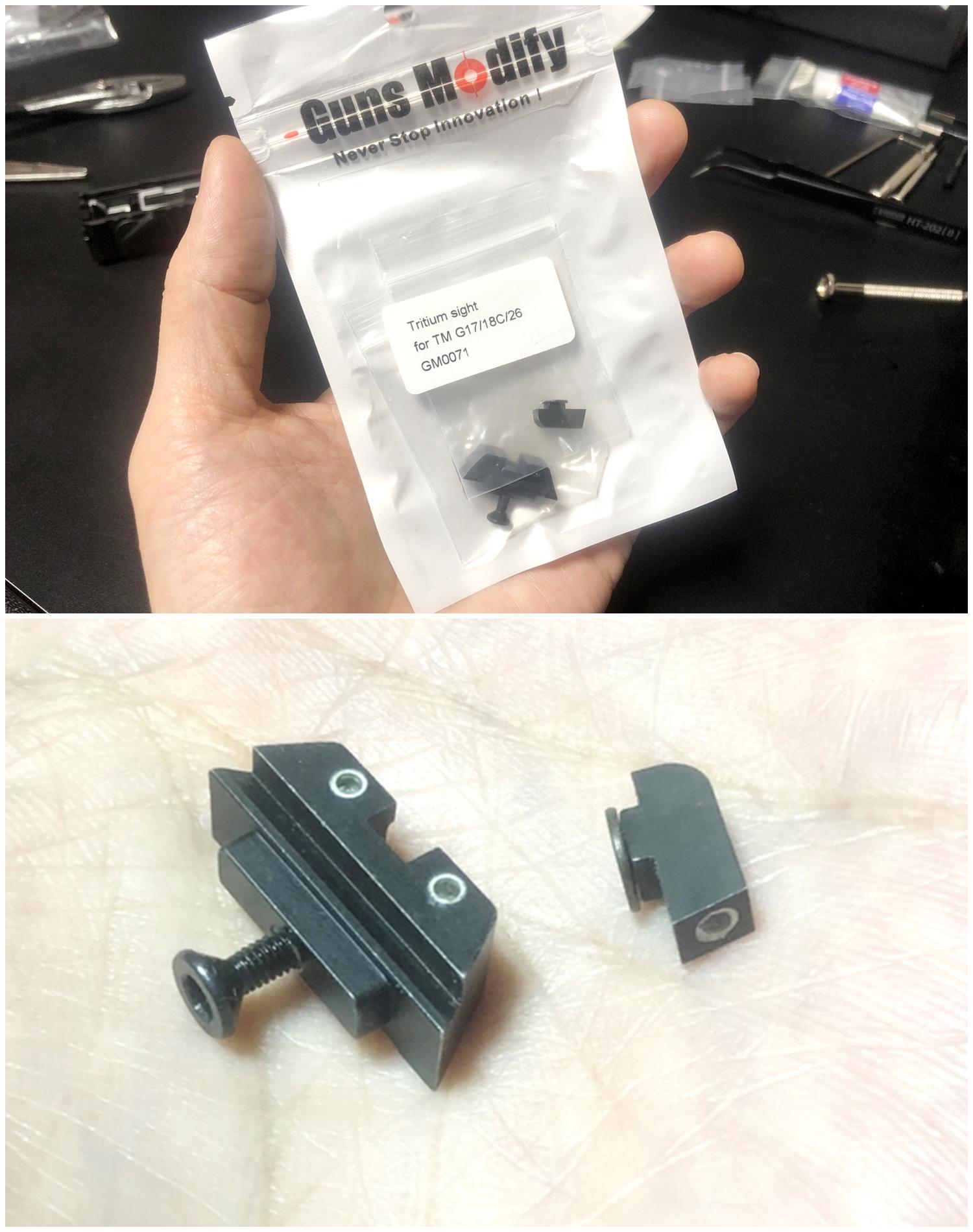 26【前半】 SAI GLOCK カスタムスライド G18C 組込完了!! やっと組み立てたぞ!! Guns Modify Salient Arms GM0251 スライドパーツ 購入 組込 分解 取付 カスタム レビュー!!
