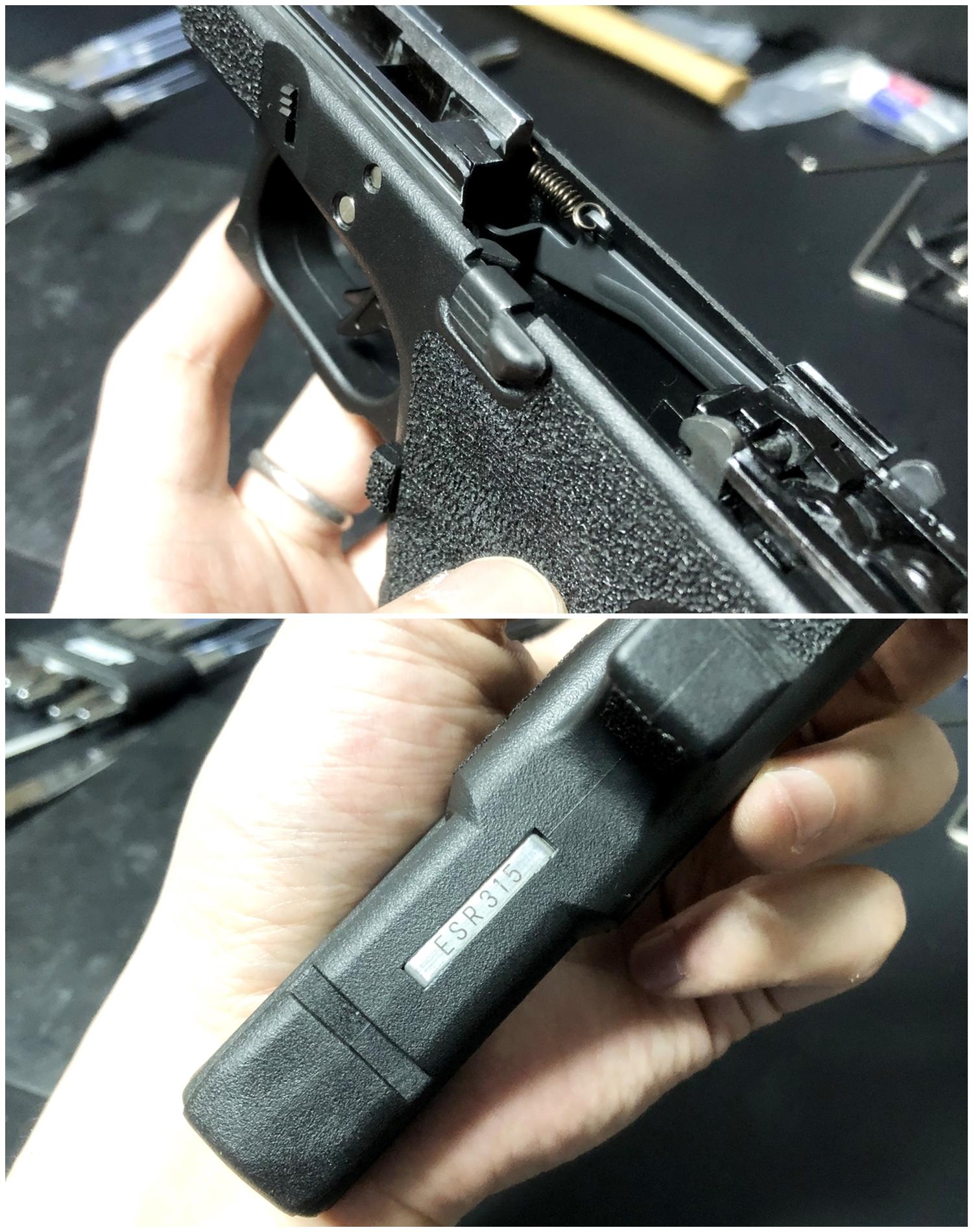 42【前半】 SAI GLOCK カスタムスライド G18C 組込完了!! やっと組み立てたぞ!! Guns Modify Salient Arms GM0251 スライドパーツ 購入 組込 分解 取付 カスタム レビュー!!