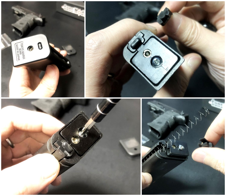 44【前半】 SAI GLOCK カスタムスライド G18C 組込完了!! やっと組み立てたぞ!! Guns Modify Salient Arms GM0251 スライドパーツ 購入 組込 分解 取付 カスタム レビュー!!