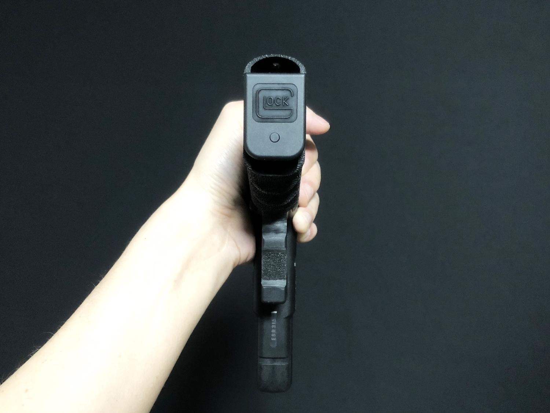 49【前半】 SAI GLOCK カスタムスライド G18C 組込完了!! やっと組み立てたぞ!! Guns Modify Salient Arms GM0251 スライドパーツ 購入 組込 分解 取付 カスタム レビュー!!