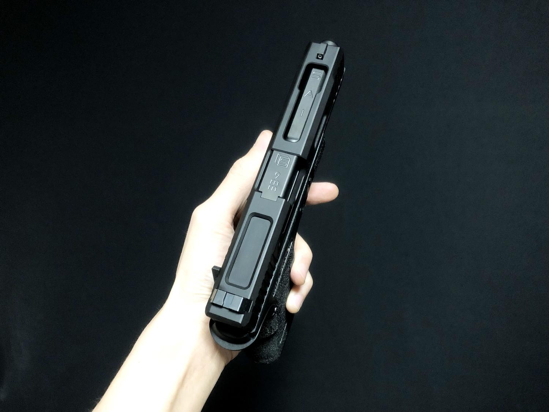 51【前半】 SAI GLOCK カスタムスライド G18C 組込完了!! やっと組み立てたぞ!! Guns Modify Salient Arms GM0251 スライドパーツ 購入 組込 分解 取付 カスタム レビュー!!