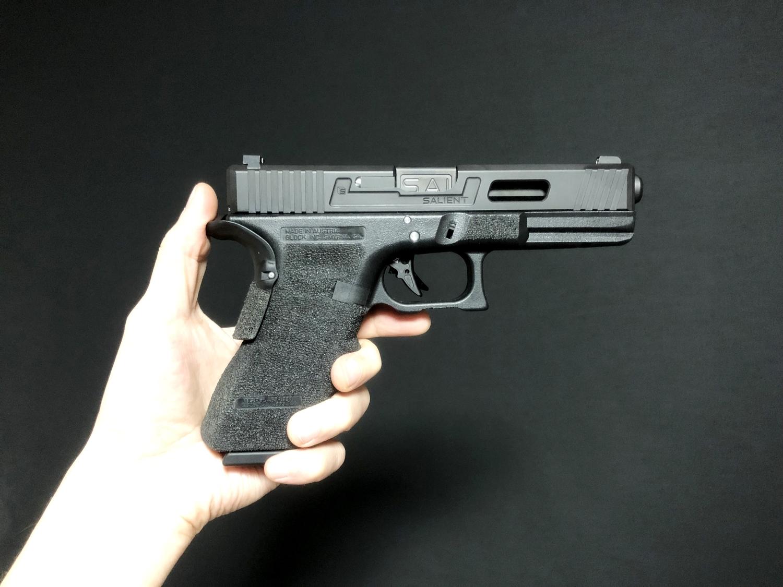52【前半】 SAI GLOCK カスタムスライド G18C 組込完了!! やっと組み立てたぞ!! Guns Modify Salient Arms GM0251 スライドパーツ 購入 組込 分解 取付 カスタム レビュー!!