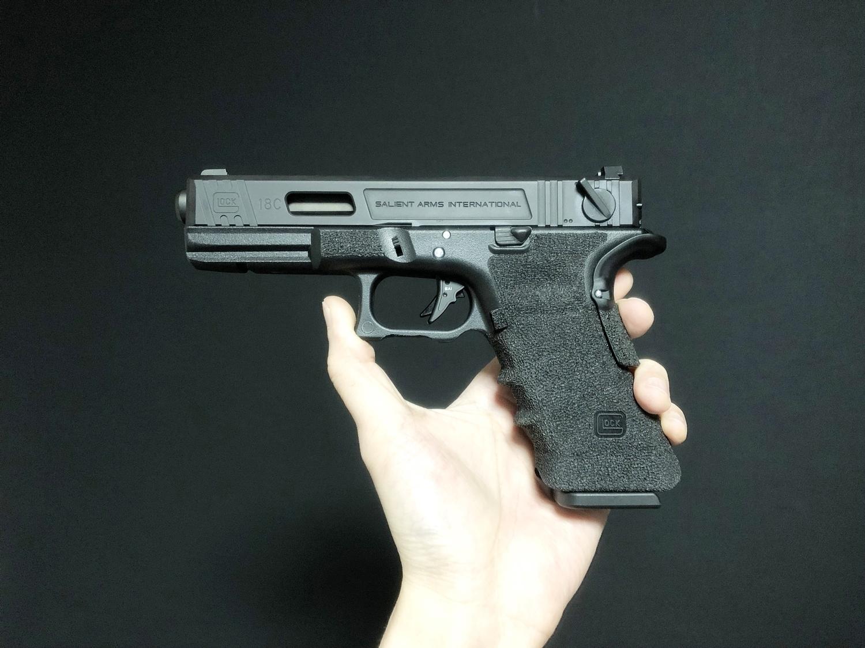 53【前半】 SAI GLOCK カスタムスライド G18C 組込完了!! やっと組み立てたぞ!! Guns Modify Salient Arms GM0251 スライドパーツ 購入 組込 分解 取付 カスタム レビュー!!