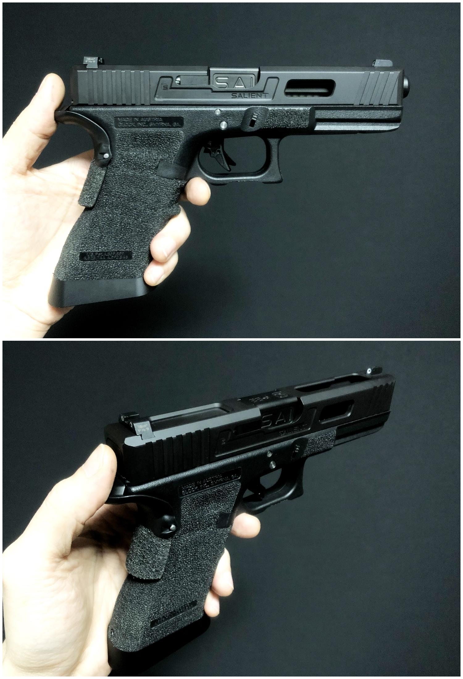66 GLOCK Trijicon TRITIUM NIGHT SIGHTS HD HI LOW Guns Modify!! グロック トリジコン トリチウム サイト GET!! 購入 検証 取付 レビュー!! したるの巻!!