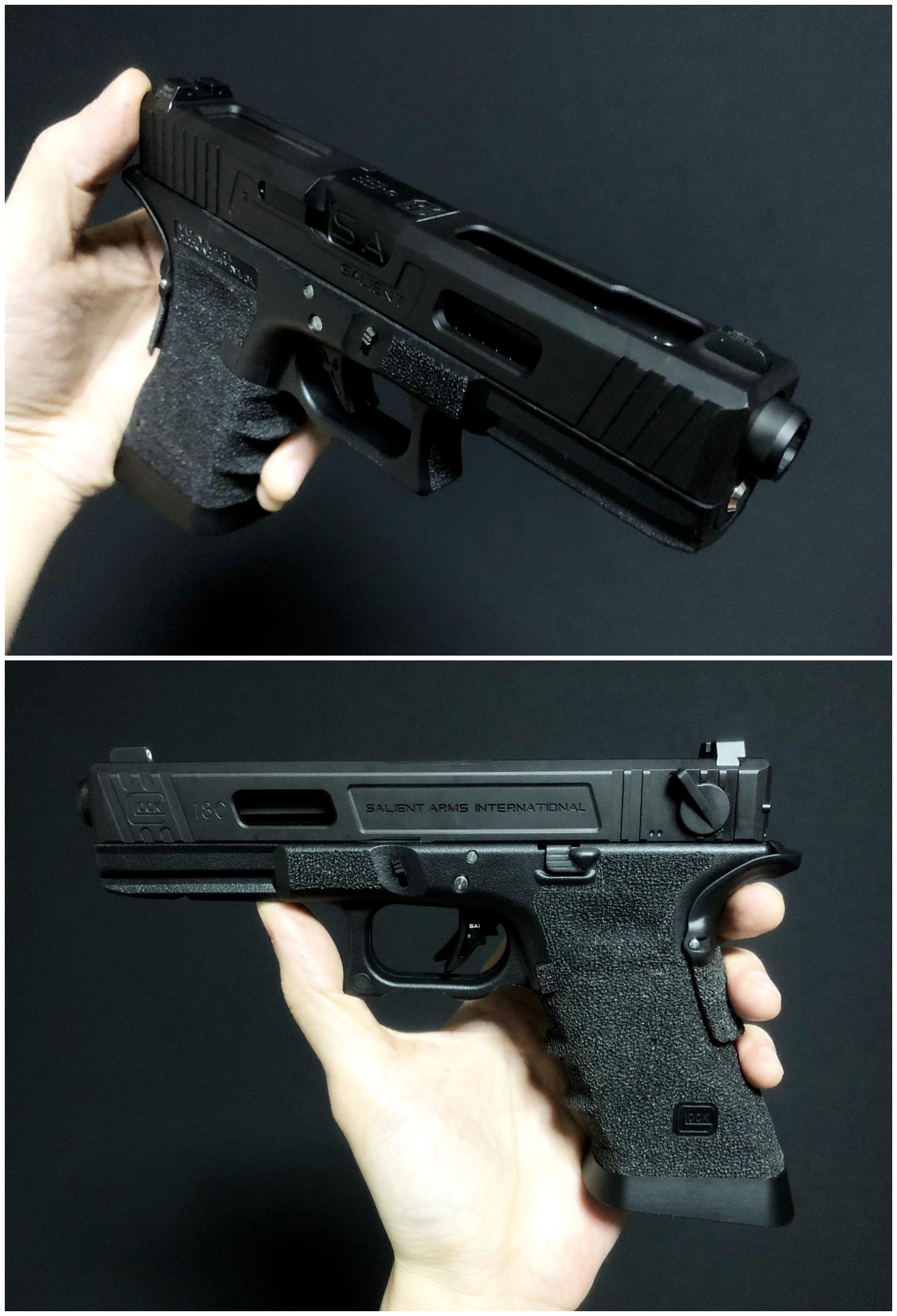 77 GLOCK Trijicon TRITIUM NIGHT SIGHTS HD HI LOW Guns Modify!! グロック トリジコン トリチウム サイト GET!! 購入 検証 取付 レビュー!! したるの巻!!