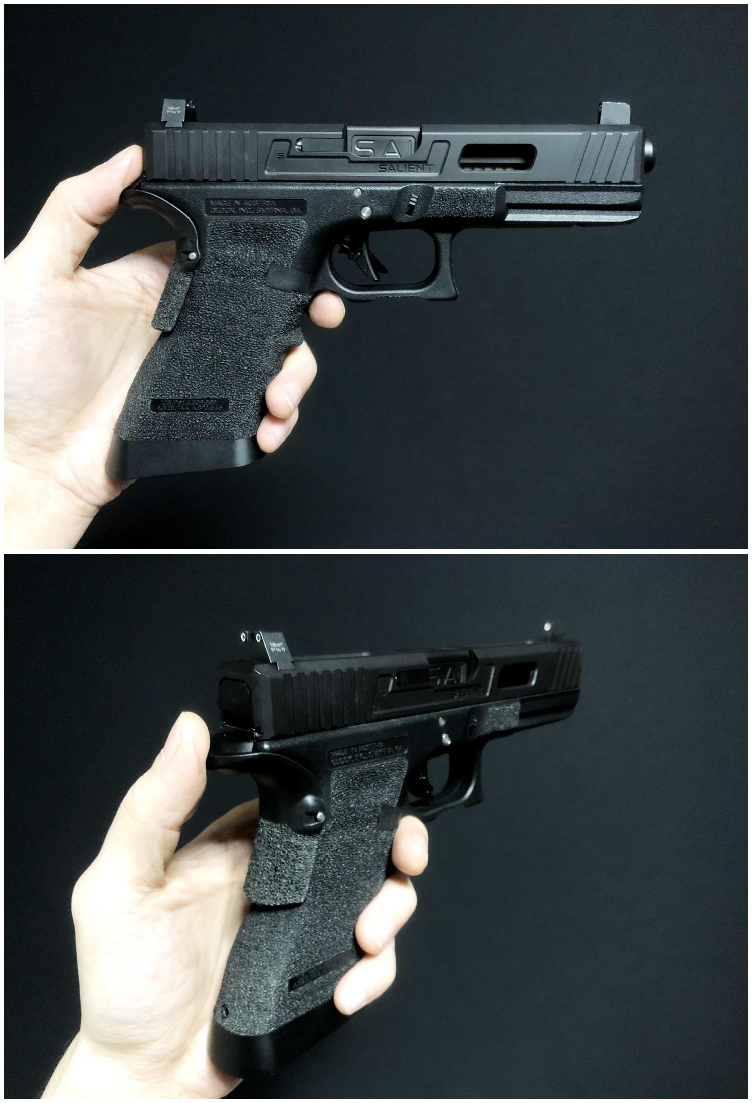44 GLOCK Trijicon TRITIUM NIGHT SIGHTS HD HI LOW Guns Modify!! グロック トリジコン トリチウム サイト GET!! 購入 検証 取付 レビュー!! したるの巻!!