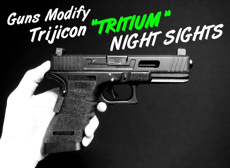 00000 GLOCK Trijicon TRITIUM NIGHT SIGHTS HD HI LOW Guns Modify!! グロック トリジコン トリチウム サイト GET!! 購入 検証 取付 レビュー!! したるの巻!!