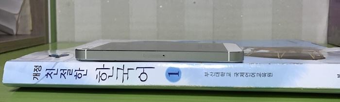 釜山大学語学堂の教科書の厚さ