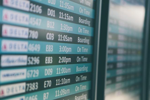 留学準備‗航空券の予約
