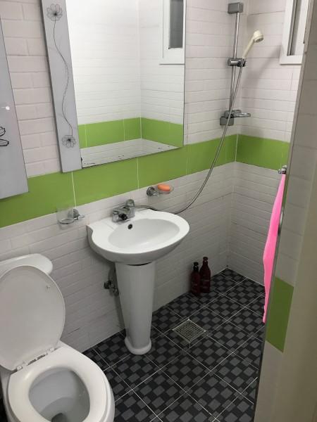 韓国のワンルームのトイレ