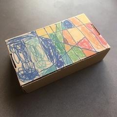 キュンタロウ作靴の箱