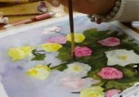 薔薇画題制作