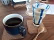 コーヒーとそばプリン