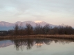 夕方の浅間山