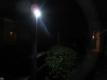 センサーライト点灯