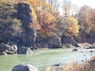 千曲川の紅葉