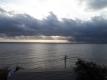 朝の海の眺め