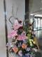 開花した生け花
