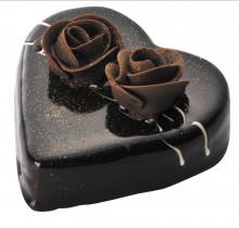 T2菓子工房のバレンタインチョコレート、ハートチョコレートケーキのご予約ありがとうございました。