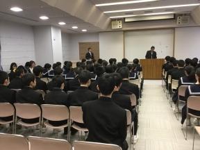 山口田上地区子供会会長の代読披露