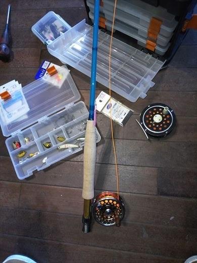 初釣りは朝霞ガーデン (3)