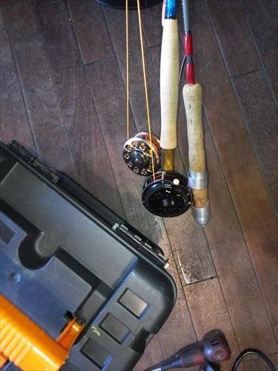 初釣りは朝霞ガーデン (4)