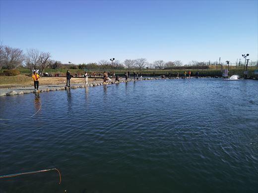 初釣りは朝霞ガーデン (9)