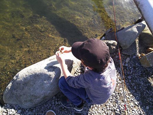 初釣りは朝霞ガーデン (11)