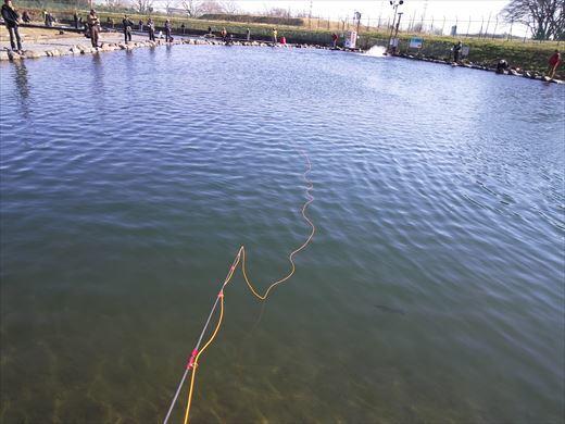 初釣りは朝霞ガーデン (12)