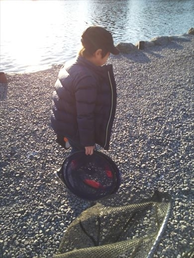 初釣りは朝霞ガーデン (18)
