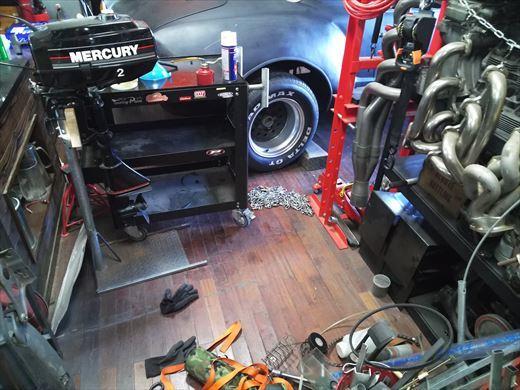 ガレージ整理 (2)