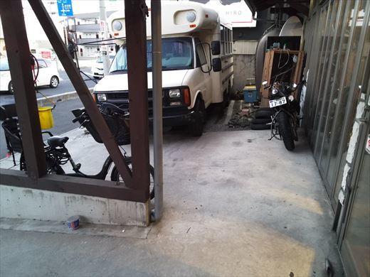 キャラバン納車 (4)