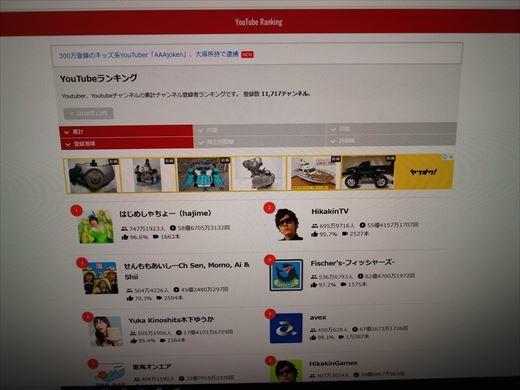 youtubeランキング (5)