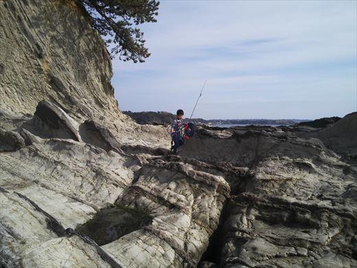 荒崎の海で釣ってみる (2)
