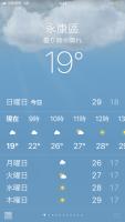 永康19℃190203