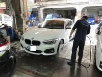 洗車中190211