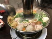 炭焼東北酸菜白肉鍋190302
