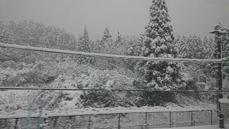 大雪の関ヶ原