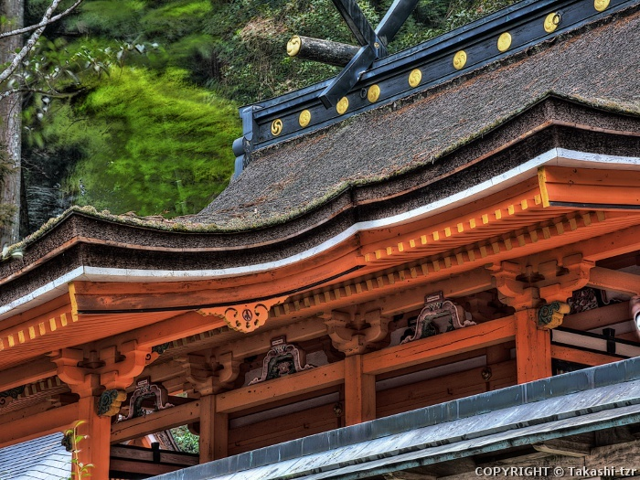 鞆淵八幡神社本殿