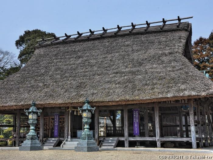 兵主神社拝殿