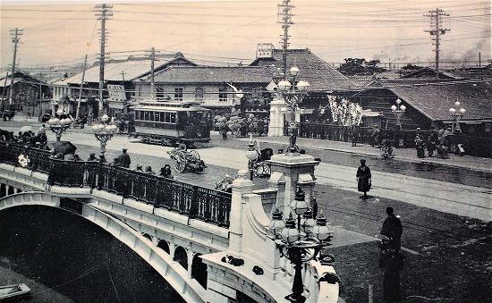 ⑩大正時代納屋橋