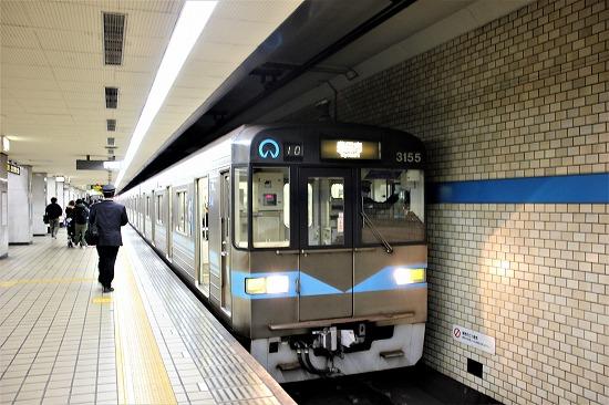 ⑮赤池駅ホーム