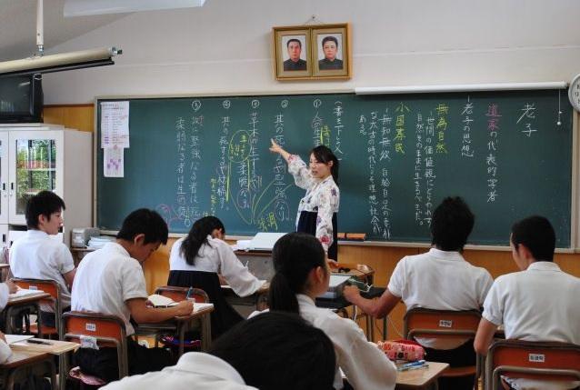 2019-2-5朝鮮学校の授業風景