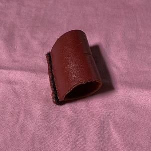 皮革製指サック