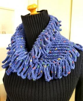 かぎ針編みのネックウォーマー2